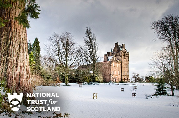 Christmas at Brodick Castle, Isle of Arran