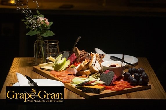 Grape to Grain sharing boards and drinks