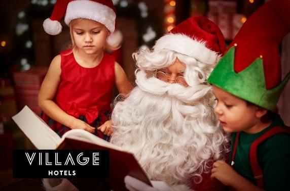 Dine with Santa at Village Hotel Aberdeen
