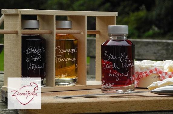 Demijohn liquid deli £15 voucher - perfect for gifts