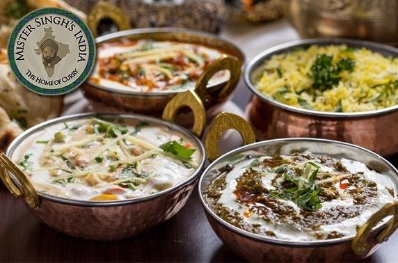 Mister Singh's India tasting menu