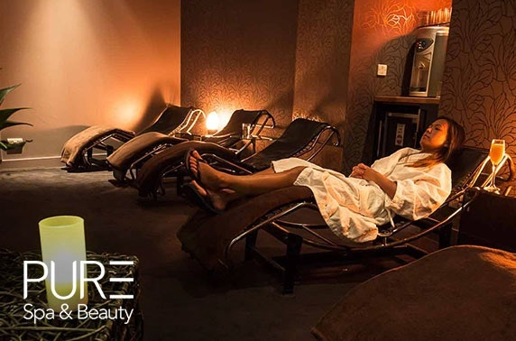 PURE Spa & Beauty pamper day, choice of locations