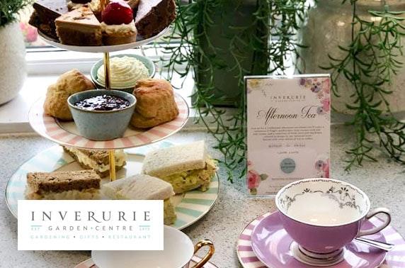 Inverurie Garden Centre afternoon tea