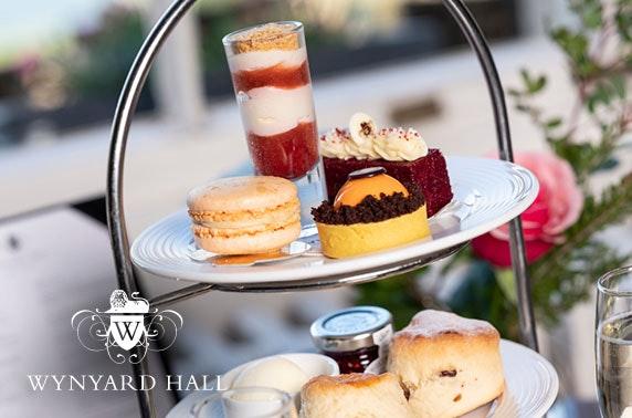 4* Wynyard Hall afternoon tea