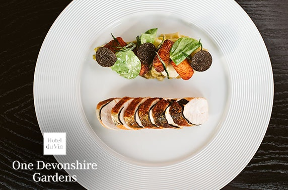 Champagne lunch at One Devonshire Gardens by Hotel Du Vin