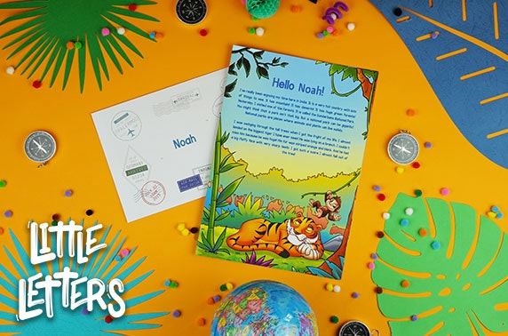 Personalised letters for children