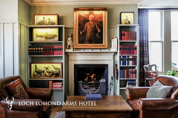 Loch Lomond Arms Hotel stay