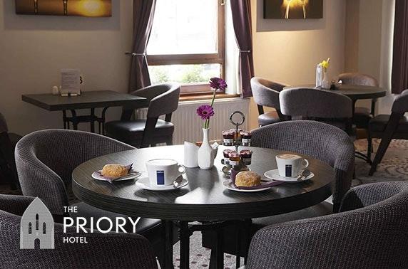 Priory Hotel Highland break; valid 7 days