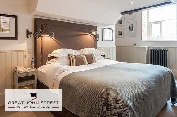 Murder mystery, Great John Street Hotel