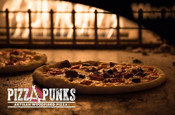 Pizza & drinks at Pizza Punks, City Centre