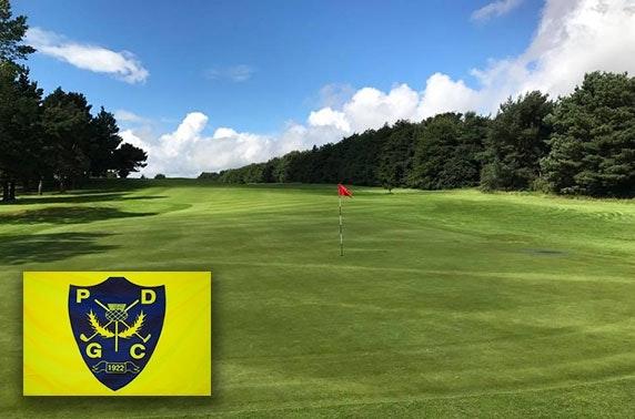 Pitreavie Golf Club round