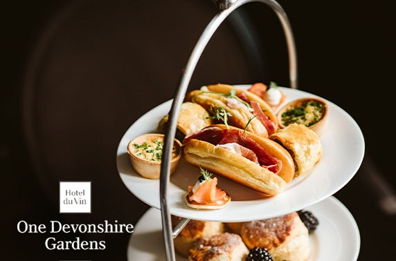 Festive Hotel du Vin afternoon tea