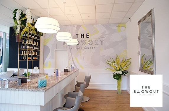 The Blowout by Kate London Champagne pamper experience