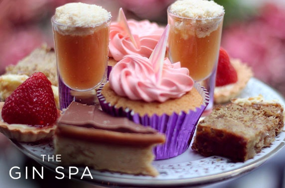 The Gin Spa treatments & afternoon tea
