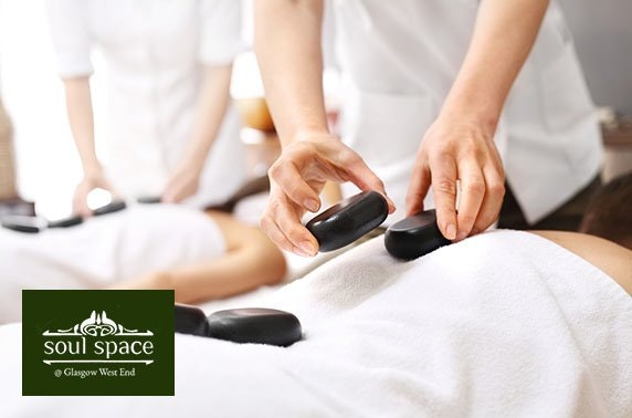 Treatments and fizz at Soul Space