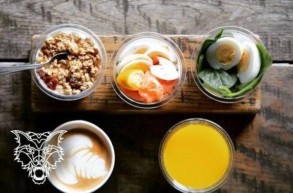 Breakfast or lunch at Wolf Italian Street Food, Spinningfields
