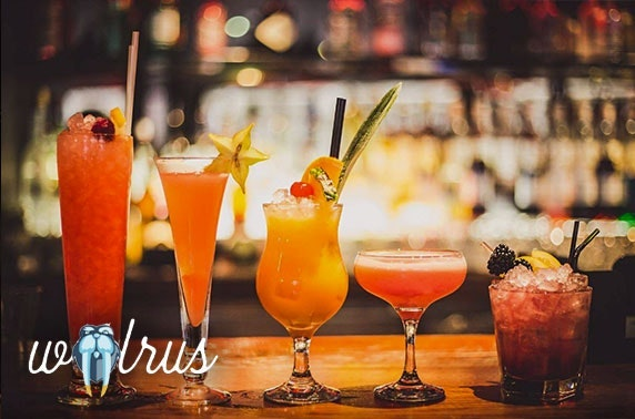 Walrus cocktails and masterclass, Northern Quarter