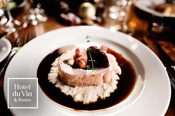 Festive lunch, Hotel du Vin St Andrews