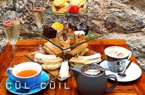 Cùl Cùil afternoon tea