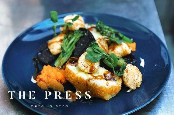 The Press Café & Bistro, Cupar