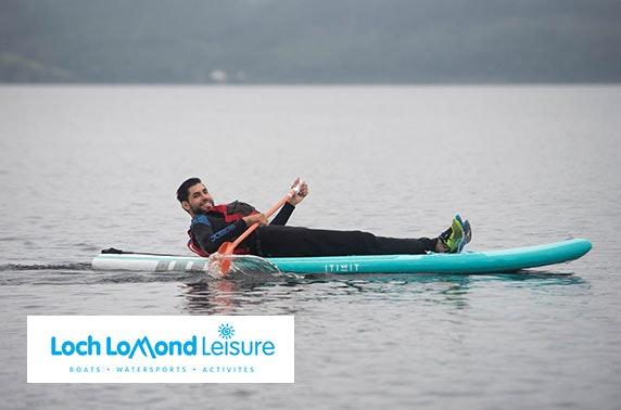 Loch Lomond paddle boarding