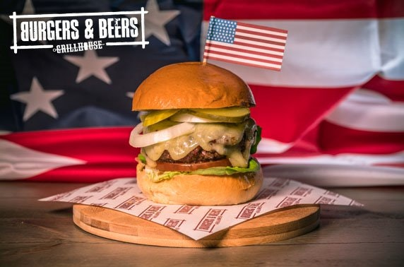 Burgers and Beers Grillhouse dining