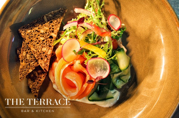 The Terrace Bar & Kitchen dining, Ayr