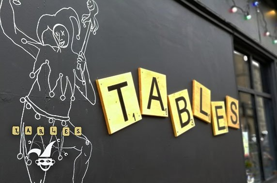 Tables at Bennets, dining