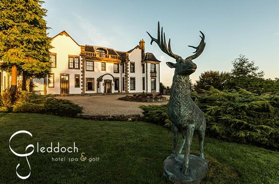 4* Gleddoch Hotel afternoon tea