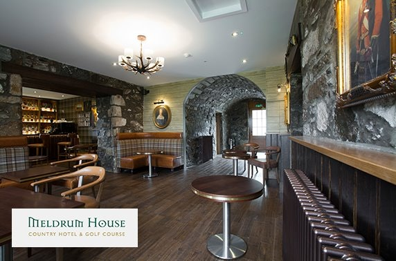 Award-winning 4* Meldrum House stay
