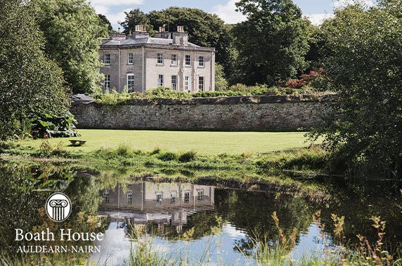 5* Boath House Hotel stay