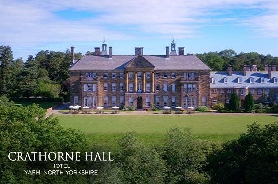 4* Crathorne Hall Hotel, Yorkshire