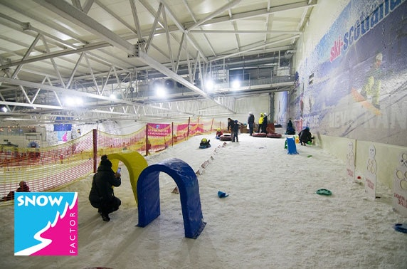 Santa experience at Snow Factor