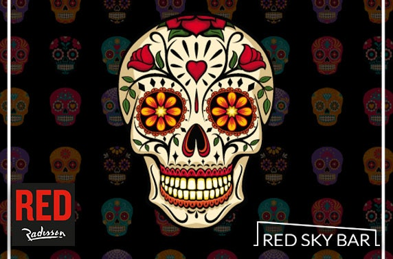 Day of the Dead party, Radisson RED