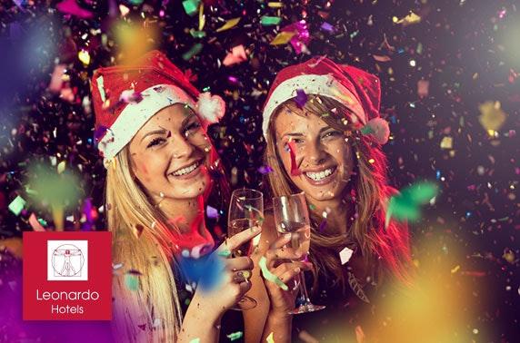 Christmas party night, Leonardo Glasgow