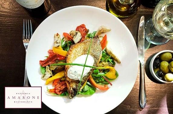 Amarone 4 course dining & Prosecco