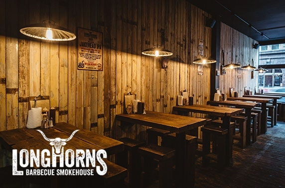 Longhorns Barbecue Smokehouse, burgers