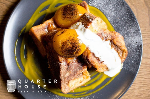 Brunch at Quarter House, Stevenson Square