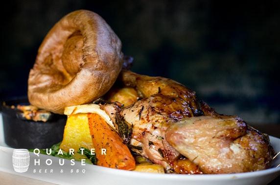 Sunday roast at Quarter House, Stevenson Square