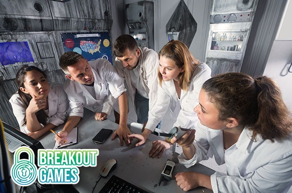 Breakout Games, City Centre - from less than £6pp
