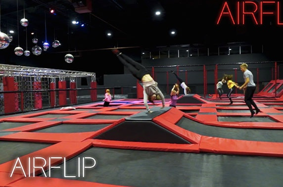 2 hour jump session at brand-new AIRFLIP