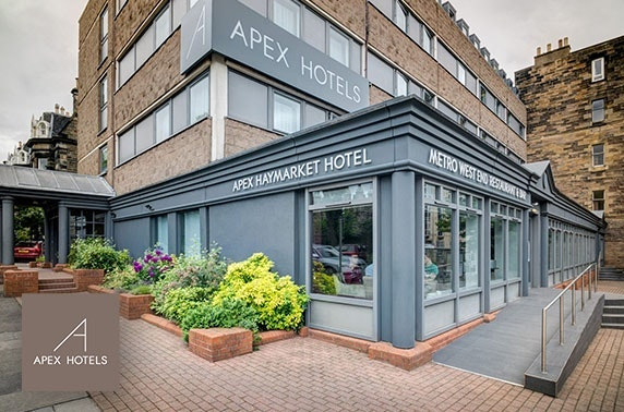 Festive dining at Apex Haymarket Hotel, Edinburgh
