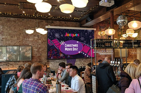 Christmas quiz night at Jacques, Finnieston