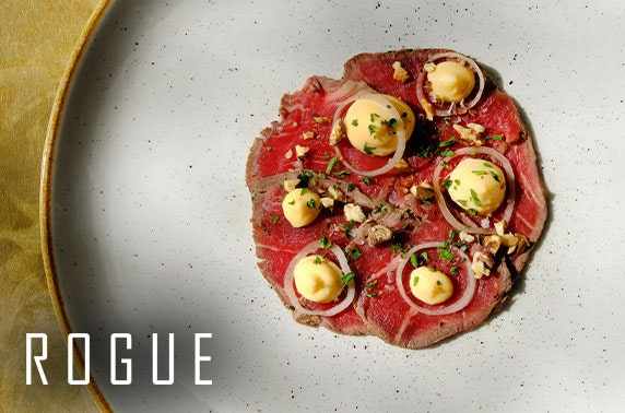 3 course group dining experience at Rogue, St Andrews