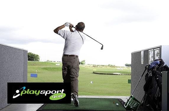 Playsport Golf round & driving range, East Kilbride