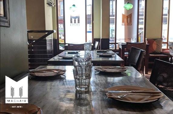 Machair dining