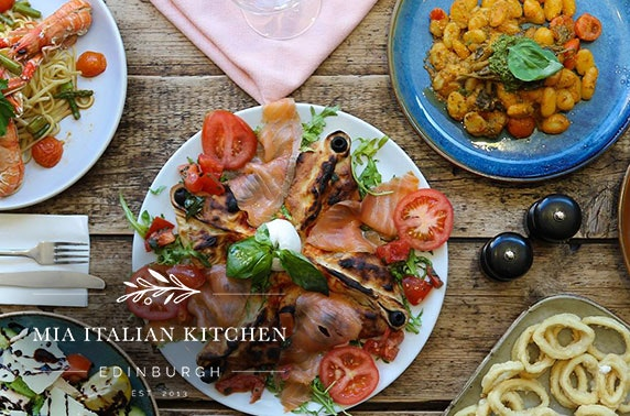 Mia Italian Kitchen food & drink voucher