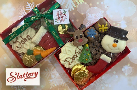 Slattery personalised selection box