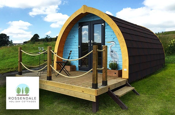 Luxury glamping or cottage stay