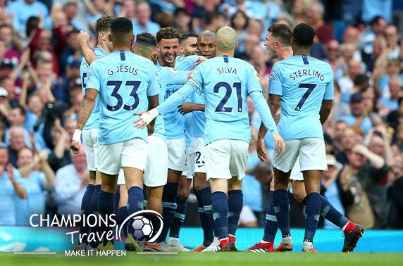 Man City FC hospitality tickets